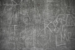 συγκεκριμένα γκράφιτι τραχιά Στοκ εικόνα με δικαίωμα ελεύθερης χρήσης