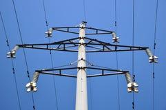 Ο συγκεκριμένος ηλεκτρικός πόλος. Στοκ φωτογραφία με δικαίωμα ελεύθερης χρήσης