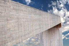 συγκεκριμένη μεγάλη δομή Στοκ Φωτογραφία