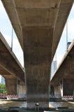 Συγκεκριμένη δομή γεφυρών στοκ φωτογραφία με δικαίωμα ελεύθερης χρήσης