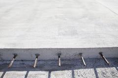 Συγκεκριμένη οδοποιία τσιμέντου Στοκ εικόνα με δικαίωμα ελεύθερης χρήσης