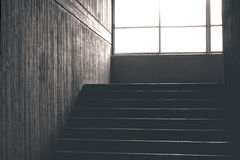 συγκεκριμένη σκάλα στοκ εικόνα με δικαίωμα ελεύθερης χρήσης