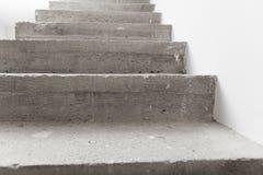 Συγκεκριμένη σκάλα κάτω από την κατασκευή Στοκ φωτογραφία με δικαίωμα ελεύθερης χρήσης
