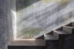 Συγκεκριμένη σκάλα τσιμέντου Στοκ φωτογραφία με δικαίωμα ελεύθερης χρήσης