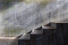 Συγκεκριμένη σκάλα τσιμέντου Στοκ εικόνα με δικαίωμα ελεύθερης χρήσης