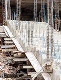 συγκεκριμένη σκάλα Στοκ φωτογραφία με δικαίωμα ελεύθερης χρήσης