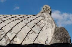 Συγκεκριμένη στέγη στο taman κάστρο νερού της Sari - ο βασιλικός κήπος του σουλτανάτου της Τζοτζακάρτα Στοκ Εικόνες