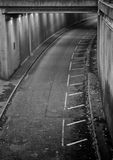 Συγκεκριμένη υπόγεια διάβαση Στοκ φωτογραφία με δικαίωμα ελεύθερης χρήσης