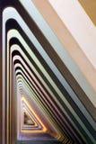 Συγκεκριμένος διάδρομος Στοκ εικόνες με δικαίωμα ελεύθερης χρήσης