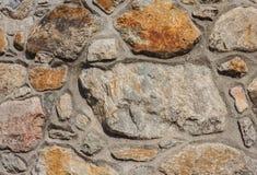 Συγκεκριμένος και τοίχος πετρών Στοκ Εικόνες