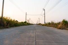 συγκεκριμένος δρόμος στοκ εικόνα με δικαίωμα ελεύθερης χρήσης