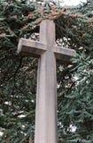 συγκεκριμένος σταυρός στοκ φωτογραφίες