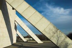 συγκεκριμένος σύγχρονος οικοδόμησης Στοκ φωτογραφίες με δικαίωμα ελεύθερης χρήσης