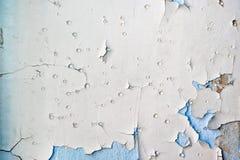 συγκεκριμένος τοίχος αποφλοίωσης χρωμάτων Στοκ Εικόνα