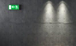 συγκεκριμένος τοίχος σύ Στοκ Εικόνες