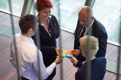 Συγκεντρώνοντας γρίφος τορνευτικών πριονιών Στοκ φωτογραφίες με δικαίωμα ελεύθερης χρήσης