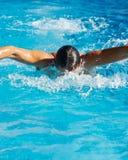 συγκεντρώστε την κολύμβ&eta Στοκ Φωτογραφία