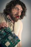 Συγκεχυμένη Caveman τεχνολογία Στοκ φωτογραφία με δικαίωμα ελεύθερης χρήσης