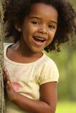 συγκινήσεις παιδιών ευτυχείς Στοκ Εικόνα