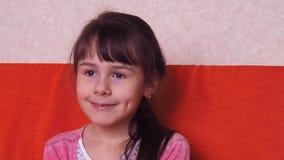 Συγκινήσεις του παιδιού απόθεμα βίντεο