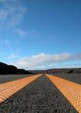 συγκλίνων δρόμος γραμμών Στοκ φωτογραφία με δικαίωμα ελεύθερης χρήσης