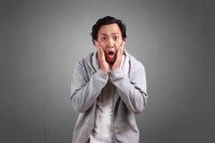 Συγκλονισμένα άτομα με το ανοικτό στόμα στοκ φωτογραφίες