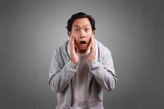 Συγκλονισμένα άτομα με το ανοικτό στόμα στοκ φωτογραφίες με δικαίωμα ελεύθερης χρήσης
