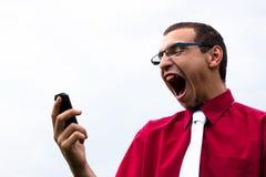 Συγκλονισμένος επιχειρηματίας στοκ φωτογραφία με δικαίωμα ελεύθερης χρήσης
