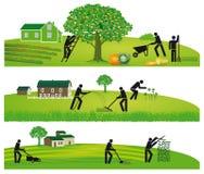 Συγκομιδή και κηπουρική στοκ εικόνα με δικαίωμα ελεύθερης χρήσης