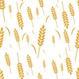 Συγκομιδή σιταριού σίτου σχεδίων ελεύθερη απεικόνιση δικαιώματος