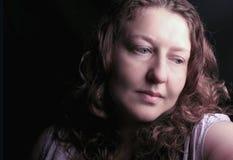 Συγκρατημένη γυναίκα Στοκ εικόνες με δικαίωμα ελεύθερης χρήσης