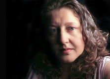 Συγκρατημένη γυναίκα Στοκ Φωτογραφίες
