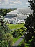 Συγκρατημένο θερμοκήπιο σπιτιών, κήποι Kew Στοκ φωτογραφία με δικαίωμα ελεύθερης χρήσης