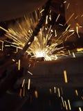 συγκόλληση λεπτομέρει&alph Στοκ φωτογραφία με δικαίωμα ελεύθερης χρήσης