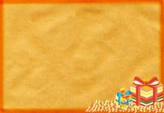 συγχαρητήρια δώρα καρτών απεικόνιση αποθεμάτων