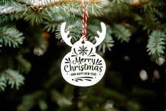 Συγχαρητήρια στα Χριστούγεννα και το νέο έτος στοκ εικόνες