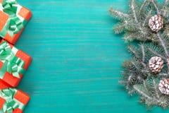 Συγχαρητήρια Χαρούμενα Χριστούγεννα καρτών και νέο έτος στοκ φωτογραφίες με δικαίωμα ελεύθερης χρήσης