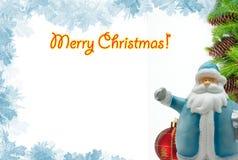 συγχαρητήρια Χριστουγέν&n Στοκ φωτογραφία με δικαίωμα ελεύθερης χρήσης