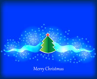 συγχαρητήριο δέντρο παιχνιδιών γουνών Χριστουγέννων καρτών κλάδων Στοκ Φωτογραφία