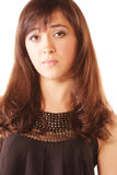 συγχυσμένο brunette Στοκ φωτογραφία με δικαίωμα ελεύθερης χρήσης