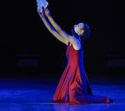 Συγ:χέω-σύγχρονος χορός Στοκ φωτογραφία με δικαίωμα ελεύθερης χρήσης