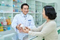 Συζήτηση των φαρμάκων στοκ φωτογραφίες