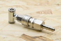 συζευκτήρας Συνδετήρας συζεύξεων αέρα στοκ φωτογραφίες με δικαίωμα ελεύθερης χρήσης