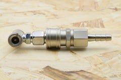 συζευκτήρας Συνδετήρας συζεύξεων αέρα στοκ φωτογραφία με δικαίωμα ελεύθερης χρήσης