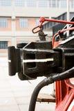 Συζευκτήρες τραίνων καψαλισμάτων Στοκ φωτογραφία με δικαίωμα ελεύθερης χρήσης