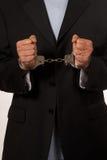 συλλήφθείτ άτομο στοκ εικόνα με δικαίωμα ελεύθερης χρήσης
