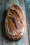 Συλλαβισμένο ψωμί muesli στοκ εικόνες