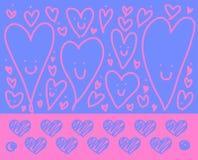 Συλλογή αγάπης στο άσπρο υπόβαθρο, διανυσματική απεικόνιση Στοκ εικόνα με δικαίωμα ελεύθερης χρήσης