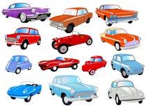 συλλογή αυτοκινήτων Στοκ Εικόνα