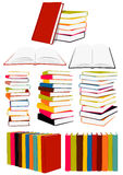 συλλογή βιβλίων Στοκ Εικόνες